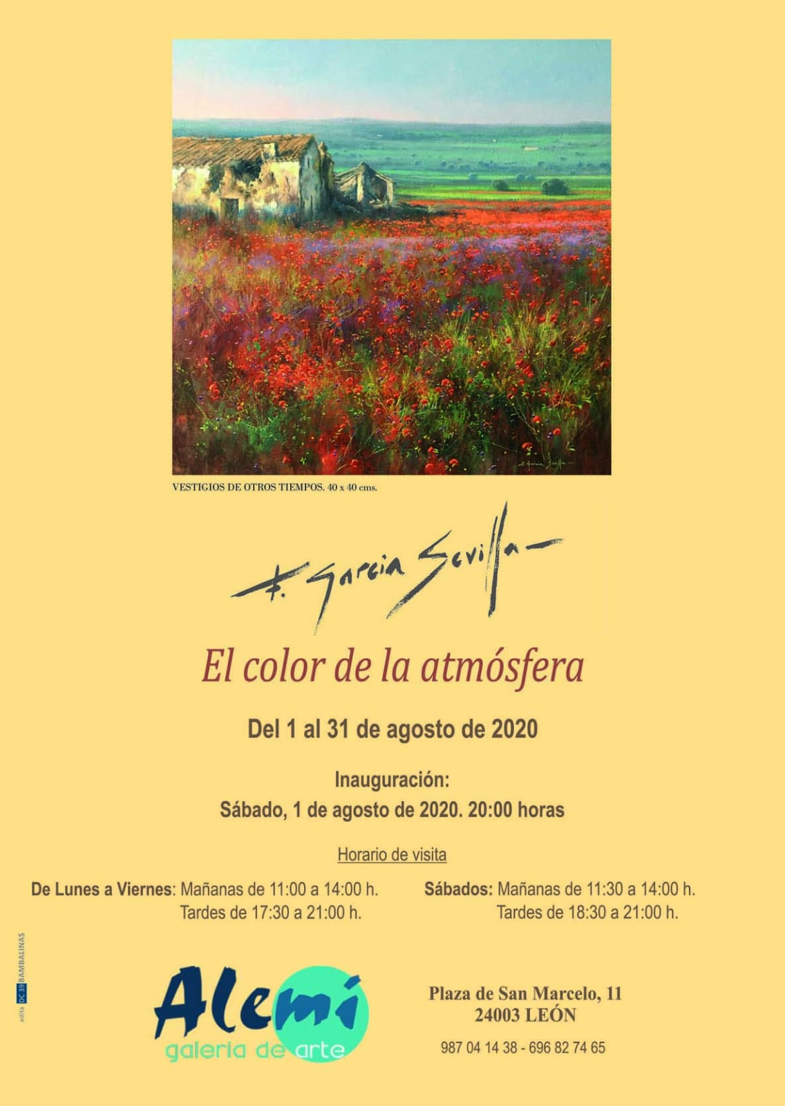 El color de la atmósfera, del 1 al 31 de Agosto